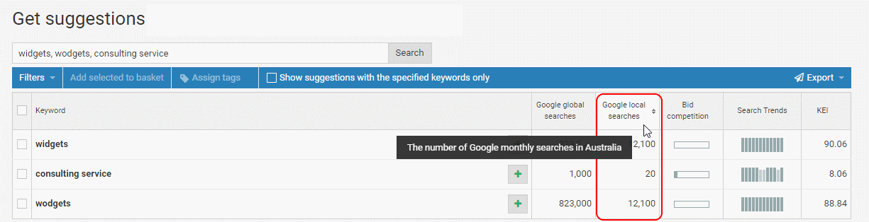 Seo Tools Search Engine Keyword Position
